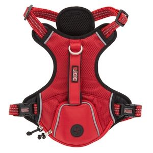 Kong Harness With Collar And Top Paw Leash